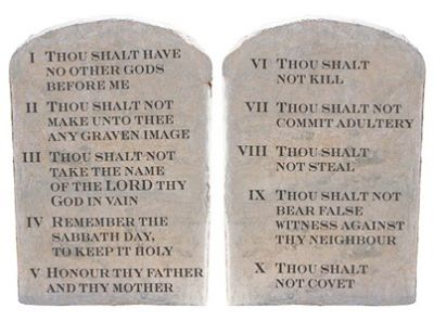 The 10 Commandments and Socialism: Compatable? You decide